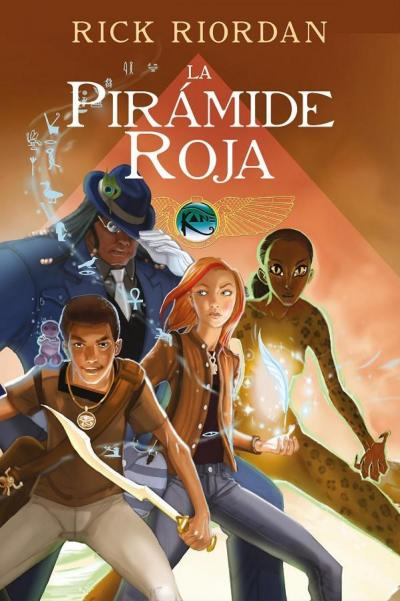 9788417460617 LA Pirámide Roja - Novela Gráfica