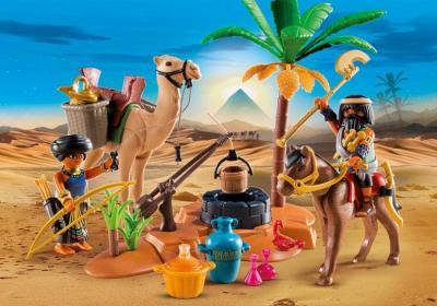 campamento egipcio