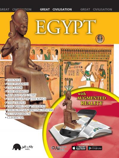 Egypt great civilisation with augmented reality