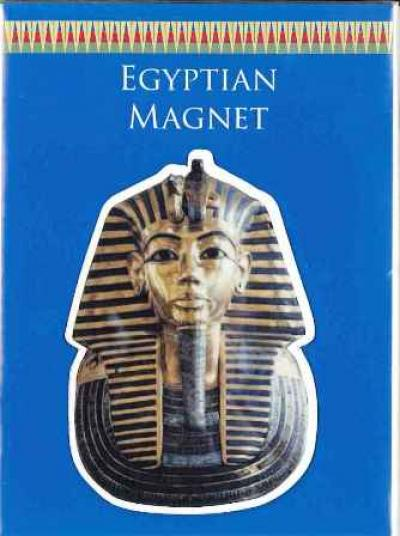 Egyptian shaped magnet Tutankhamon