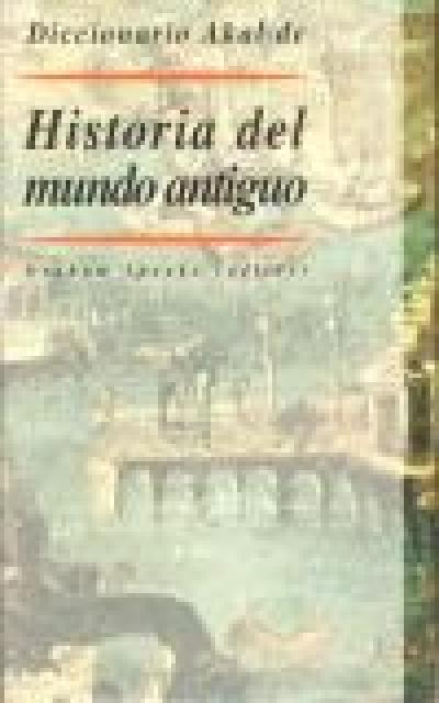 Historia mundo antiguo Diccionario