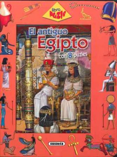 Libro puzzle. Antiguo Egipto