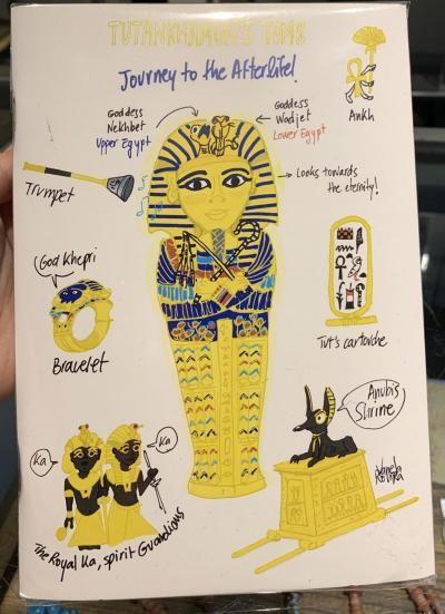 Llibreta Tutankhamon
