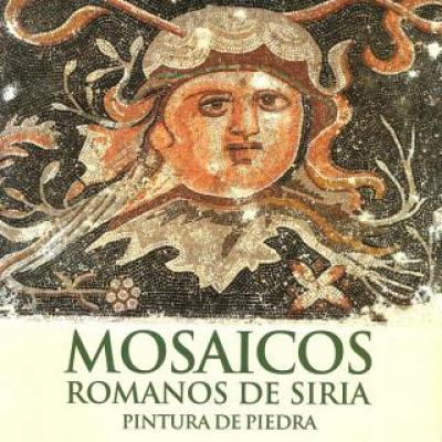 Mosaicos romanos de Siria. Pintura de piedra
