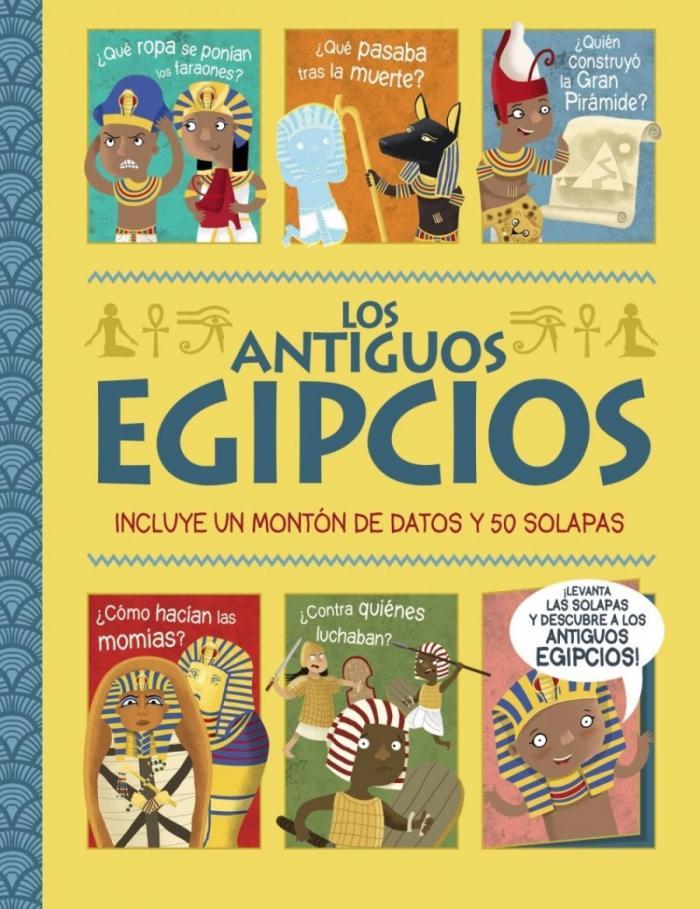 LOS ANTIGUOS EGIPCIOS 50 SOLAPAS BRUÑO