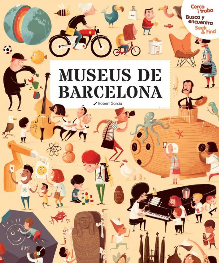 Museus de Barcelona  - Roger Garcia - Editorial Mediterrània