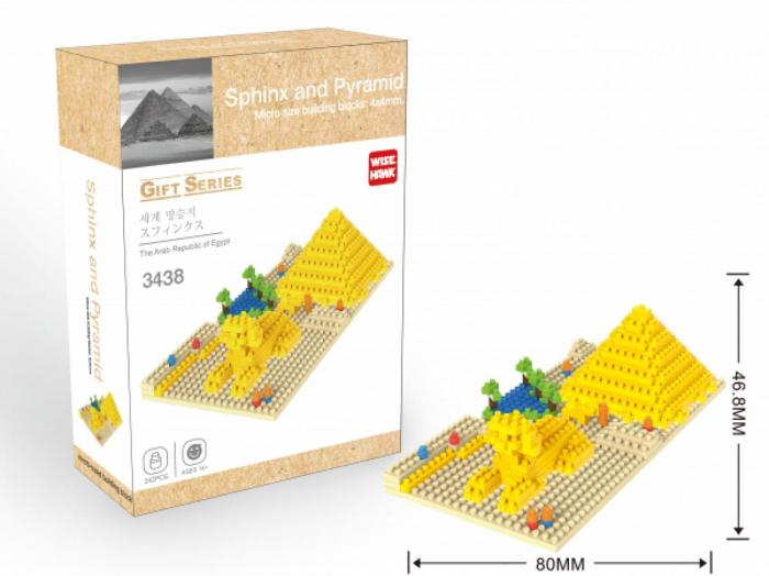 wh3438 sphinx and pyramid gift series wise hawk